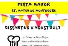 Festa Major Sant Mateu de Montnegre