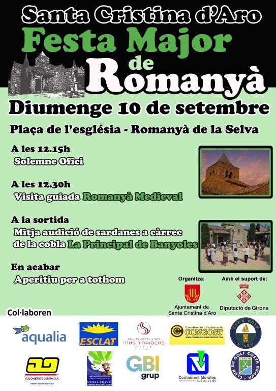 Festa Major Romanyà