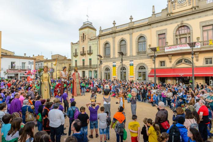 Festa Major Llagostera gegants