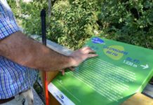 Ruta a les vies verdes de Girona adaptada a persones cegues o amb baixa visió