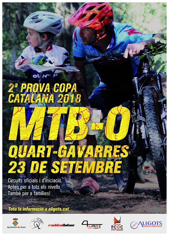 Copa Catalana MTB-O a Quart