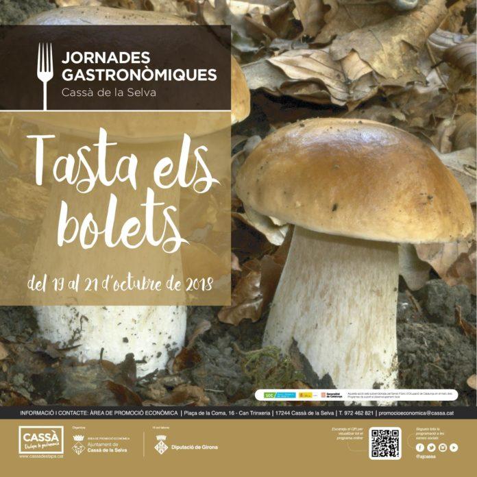 """Tasta els Bolets"""" a Cassà de la Selva"""