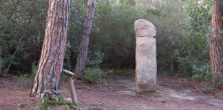 El menhir de la murtra Romanyà