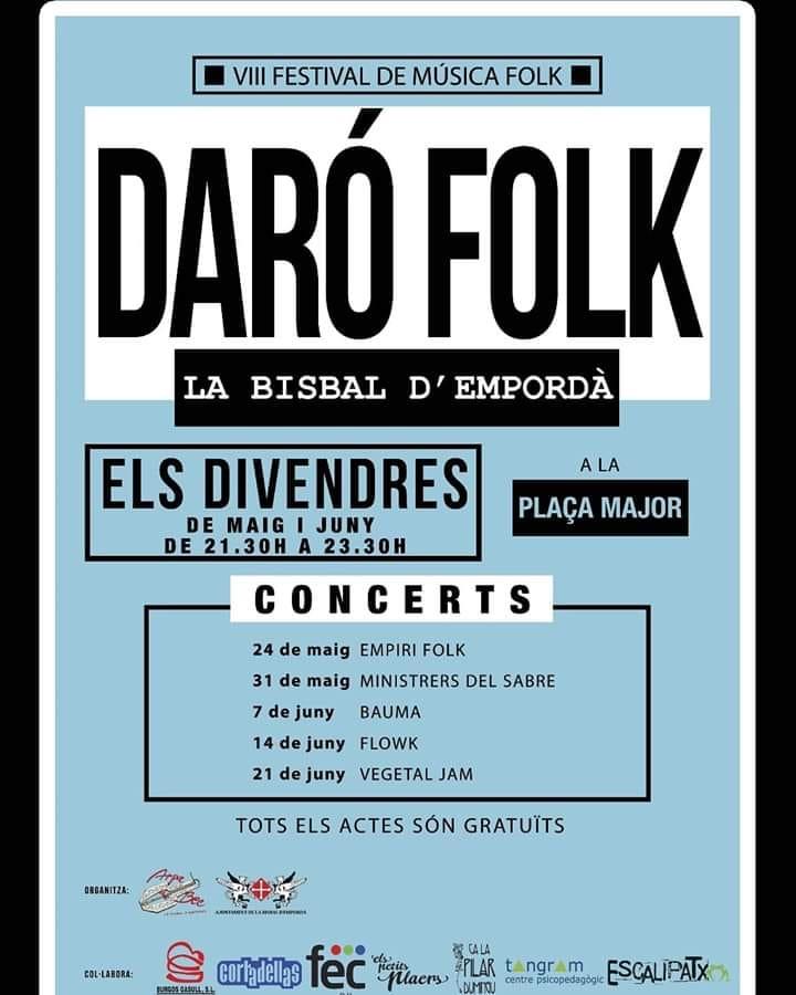Cartell Daro Folk 2019