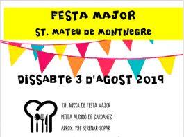 Festa Major de Sant Mateu de Montnegre