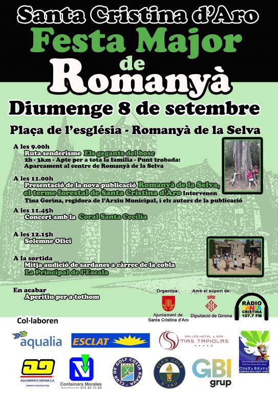 Romanyà festa major