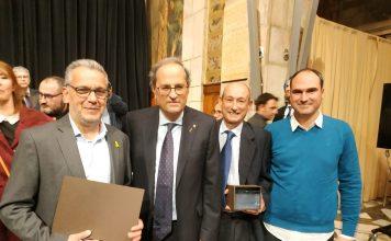 El Mercat Municipal de Palafrugell rep el reconeixement d'establiment centenari
