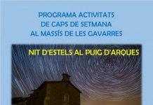 Nit d'estels al Puig d'Arques