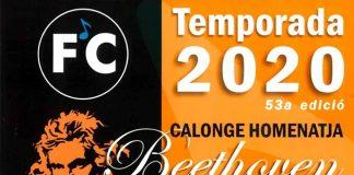 Els Festivals de Calonge inicien la temporada amb un concert d'homenatge a Beethoven