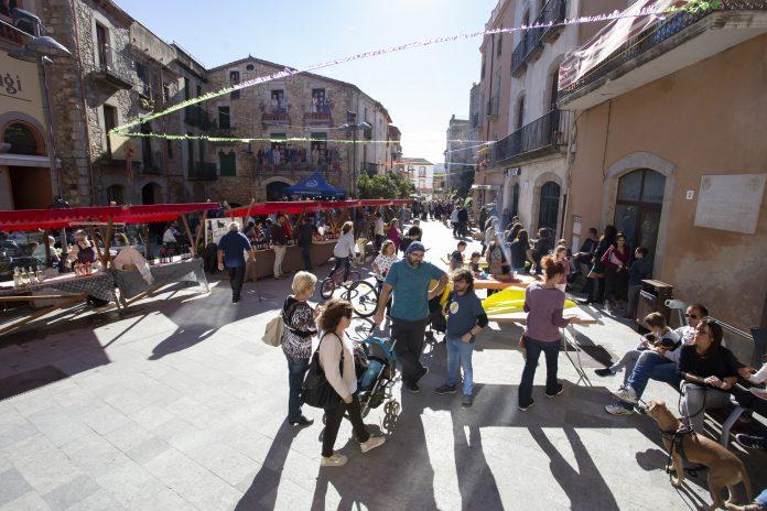 Festa del vi nou a la població de Calonge