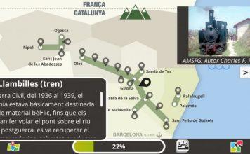 Disponible una nova aplicació mòbil sobre els nous Secrets de les Vies Verdes de Girona