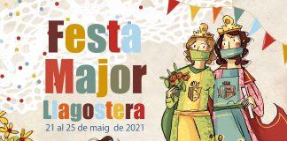 Cartell Festa Major Llagostera 2021