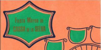Cartell Festa Major de Cassà 1972