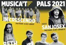 Cartell Musica't Pals 2021