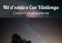 Nit d'estels a Can Vilallonga (Cassà de la Selva)