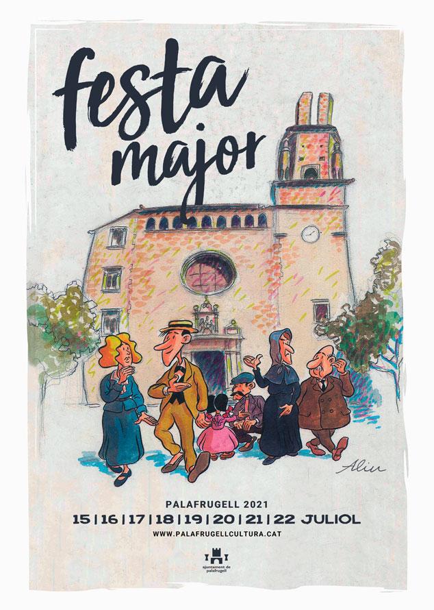 Cartell Festa Major de Palafrugell 2021