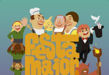 Cartell Festa Major Santa Cristina d'Aro 2021